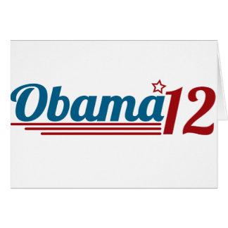 Re-Elect Obama '12 Card