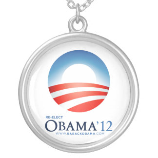 Re-Elect Obama '12 Necklace