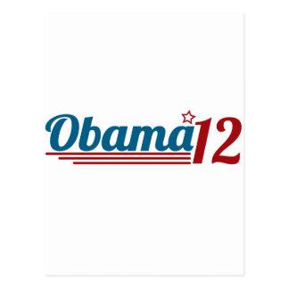 Re-Elect Obama '12 Postcard