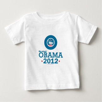 Re-elect Obama 2012 Baby T-Shirt