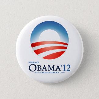 Re-Elect Obama 2012 Button