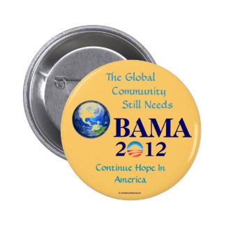 Re-Elect OBAMA 2012 Issues political pinback butto Pinback Button