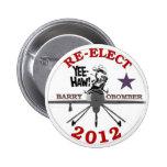Re-Elect Obama 2012 Pin
