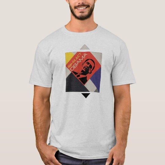 Re-Elect Obama -- De Stijl style T-Shirt