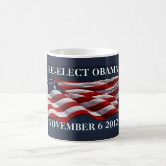 RE-ELECT OBAMA November 6 2012 Coffee Mug