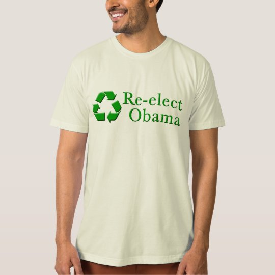 Re-Elect Obama Recycle T-Shirt