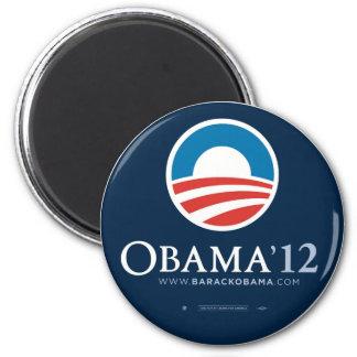 Re-Elect President Barack Obama 2012 2 Inch Round Magnet