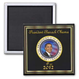 RE-ELECT PRESIDENT OBAMA 2012 MAGNET