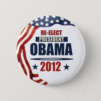 Re-Elect President Obama 2012 Pinback Button