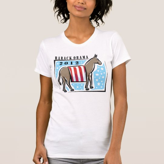 Re-elect President Obama 2012 T-Shirt