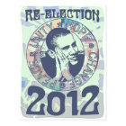 Re-Elect President Obama Election 2012 Gear Postcard
