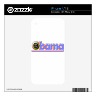Re-Elect President Obama! Skins For iPhone 4
