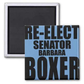 Re-Elect Senator Barbara Boxer Magnets