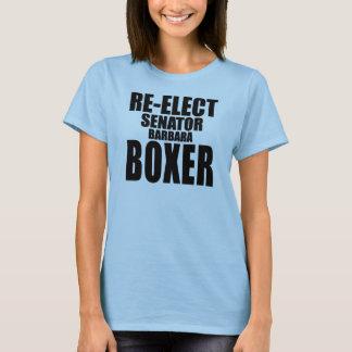 Re-Elect Senator Barbara Boxer T-Shirt
