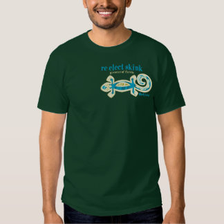 re-elect skink tee shirt