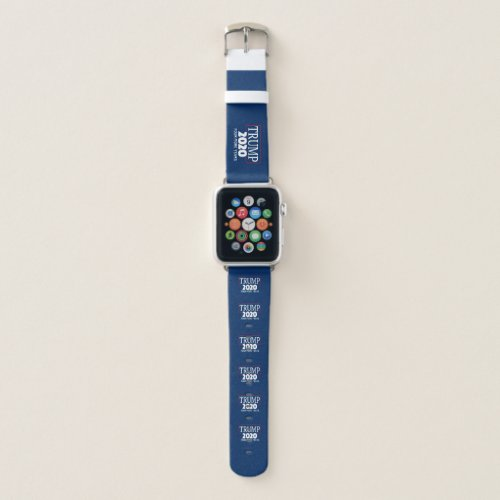 Re_Elect Trump 2020 Four More Years Campaign Apple Watch Band