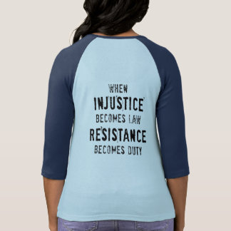 RE/EX Resist Tee, Double-sided T-Shirt