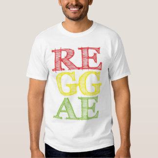 RE.GG.AE. T SHIRT