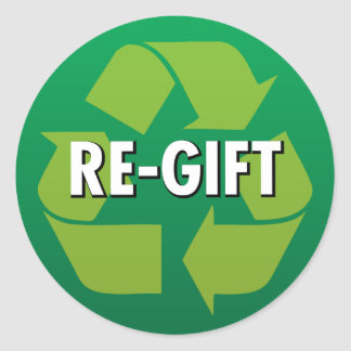 """Re-Gift"" Stickers"
