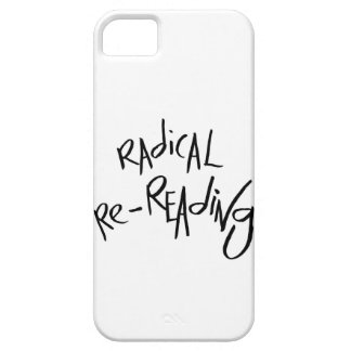 Re-lectura radical funda para iPhone 5 barely there