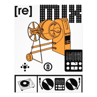 re mix flyers