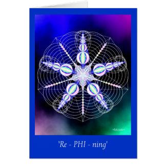 'Re-PHI-ning' Greeting Card