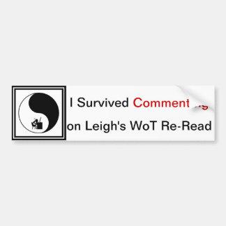 Re-Read  Bumper Sticker
