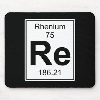 Re - Rhenium Mouse Pad