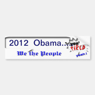 Re-take America Bumper Sticker