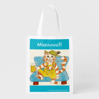 "Re-usable shopping bag ""Miau """