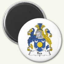 Rea Family Crest Magnet