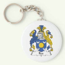 Rea Family Crest Keychain