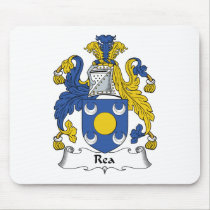 Rea Family Crest Mousepad