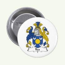 Rea Family Crest Button