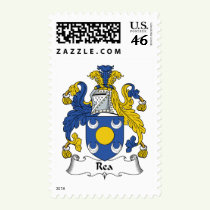 Rea Family Crest Stamps