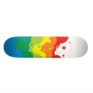 reacciones químicas del color patines