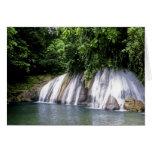 Reach Falls, Port Antonio, Jamaica Card