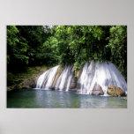 Reach Falls, Port Antonio, Jamaica Print