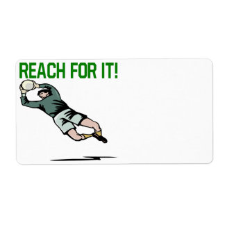 Reach For It Custom Shipping Label