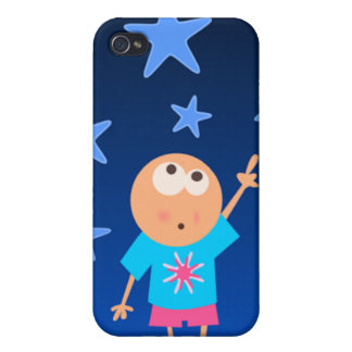 reach for stars iPhone 4 case