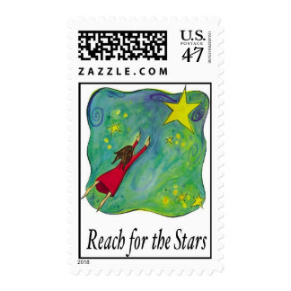 reach for stars postage stamp
