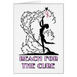 Reach For the Cure Greeting Card