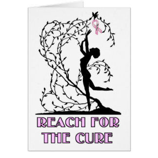 REACH FOR THE CURE STATIONERY NOTE CARD