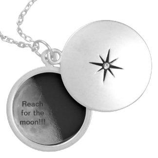 Reach for the moon pendants