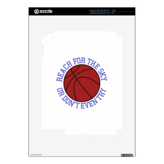 Reach for the Sky Decal For The iPad 2
