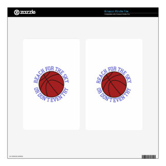 Reach for the Sky Decals For Kindle Fire