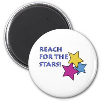 Reach for the Stars! 2 Inch Round Magnet