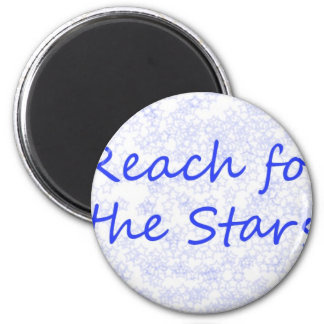 Reach for the Stars 2 Inch Round Magnet