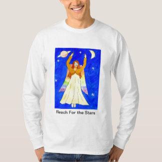 Reach For the Stars Angel Shirt