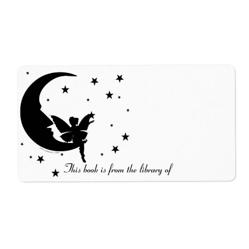 Reach for the Stars Bookplate Shipping Labels